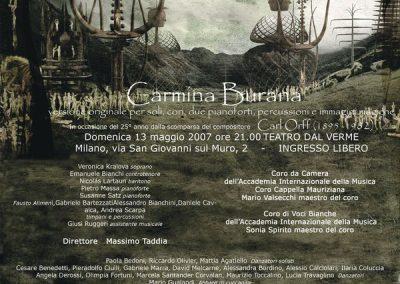 Coreographer Lara Guidetti Poster by Alessandro Bavari Costume designer, set designer, light designer and director Federico Grazzini